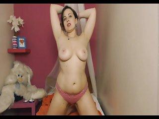 Russian big tits cam whore