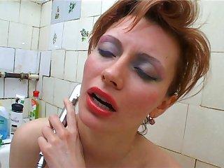 Russian Hairy Mama 2