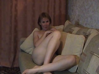 Russian mature shows her best p.1