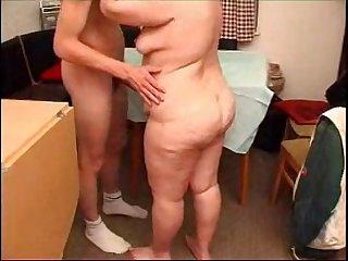 mature bbw with her boy