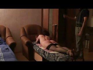 Spanking russian mature mom