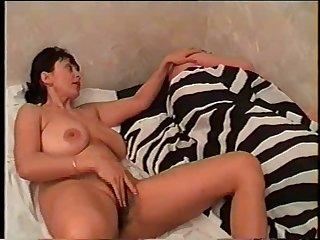 Nice mom with giant saggy boobs, hairy..