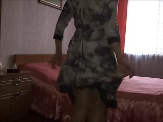 my mom show her ass again