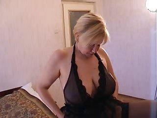 Russian Blonde mom next door