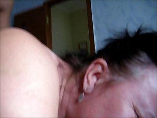 Russian fat mom